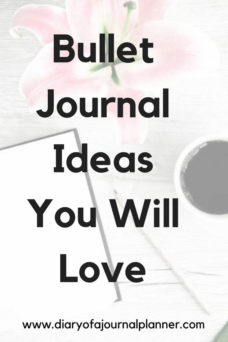 bullet journal tricks