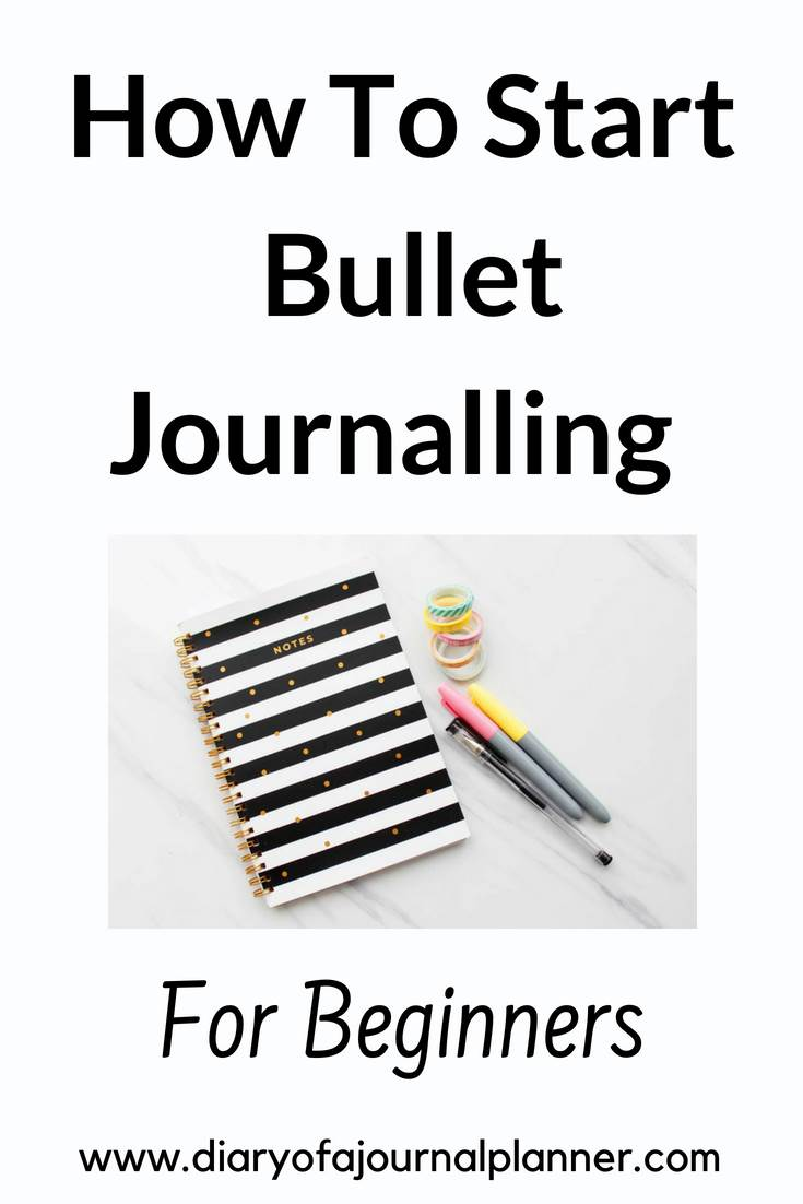 How to start bullet journaling #bulletjournal #bujo #journaling #planning
