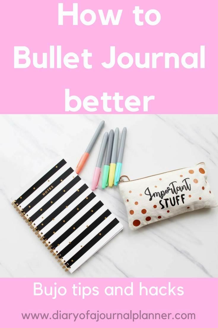tips bullet journal