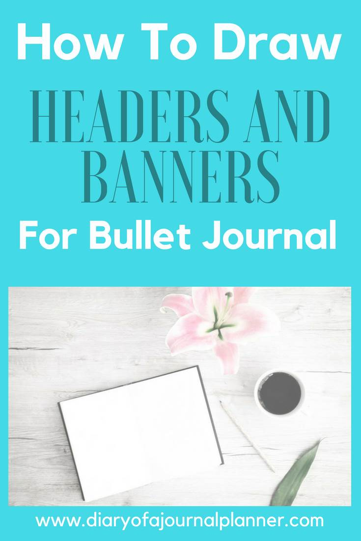 Headers and banners for bullet journal #headers #banners #tittle #bulletjournal #bujo