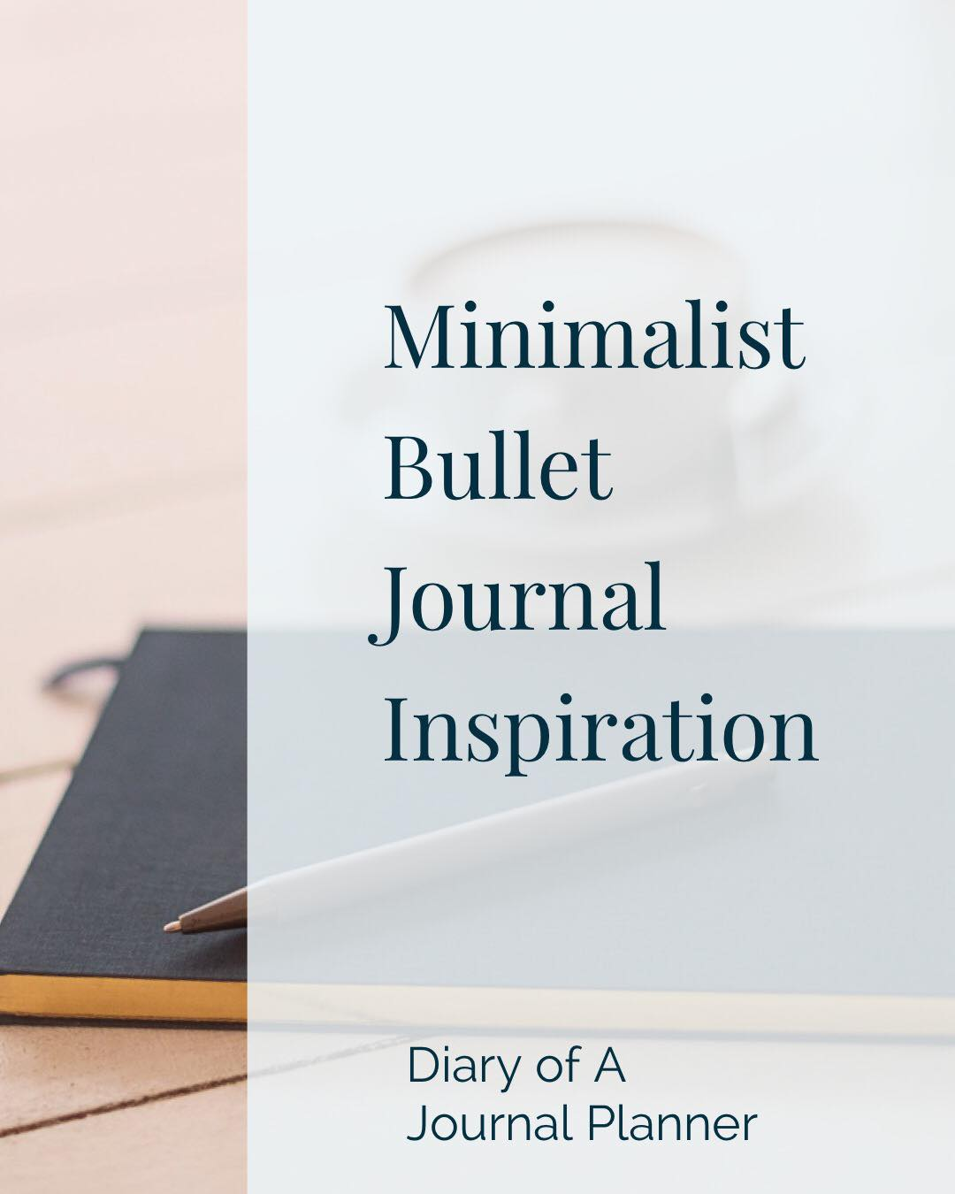 minimalist bullet journal ideas and layouts for weekly spreads.
