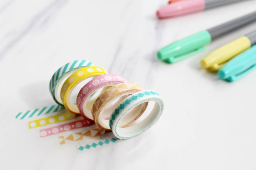 40 Creative Bullet Journal Washi Tape Ideas