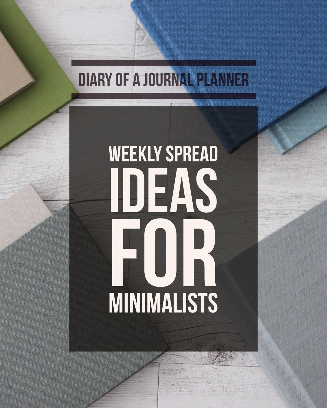 Weekly layout ideas for planners and bullet journal. Perfect for minimalists and busy people.