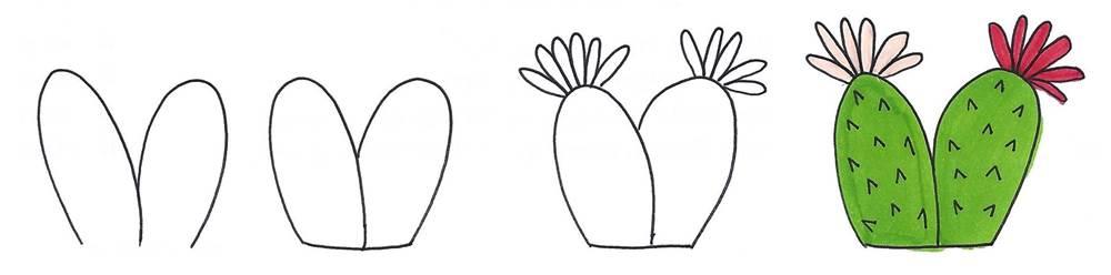 cactus doodles
