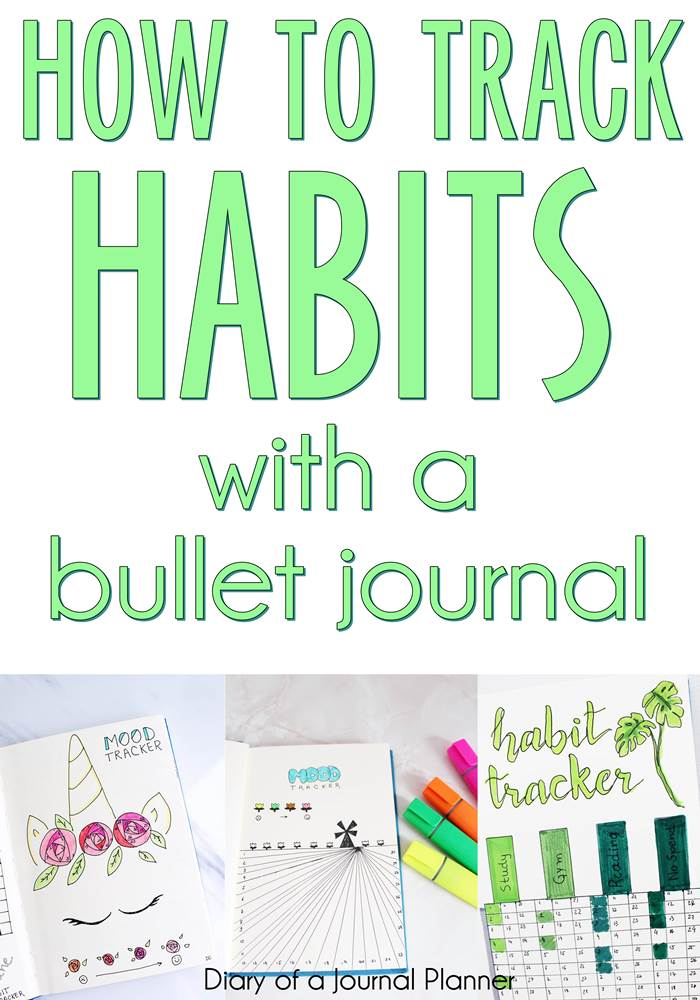 How to track your habits with a bullet journal #bulletjournal #bujo #habittracker #bulletjournalhabittracker