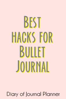 hacks for bujo
