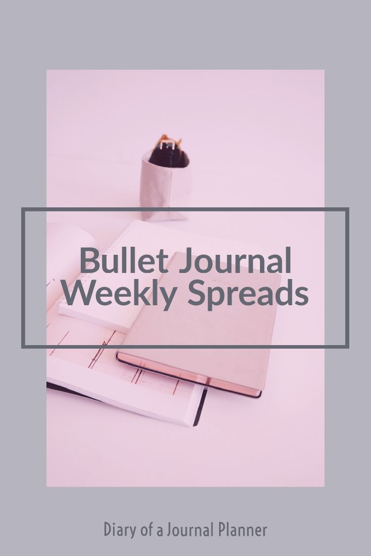 The best bullet journal weekly spreads to try today