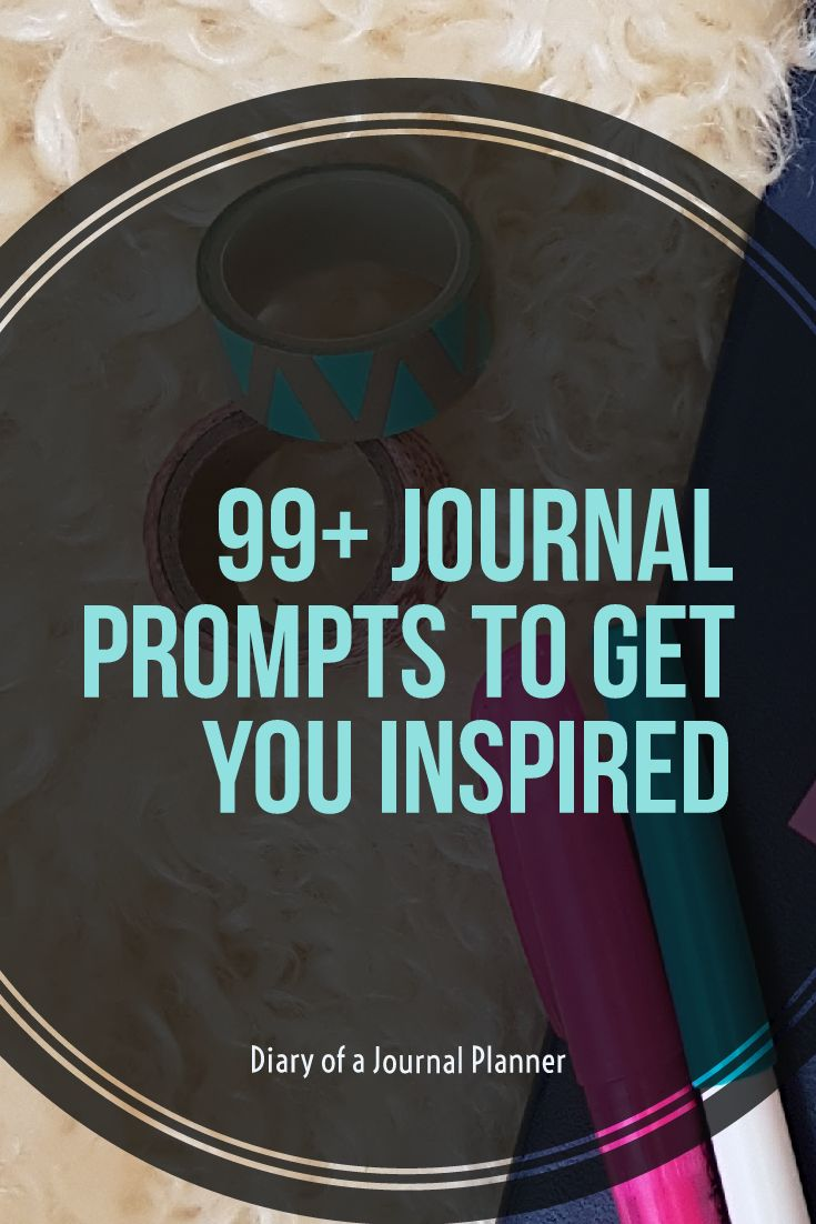 journal prompts to get you inspired