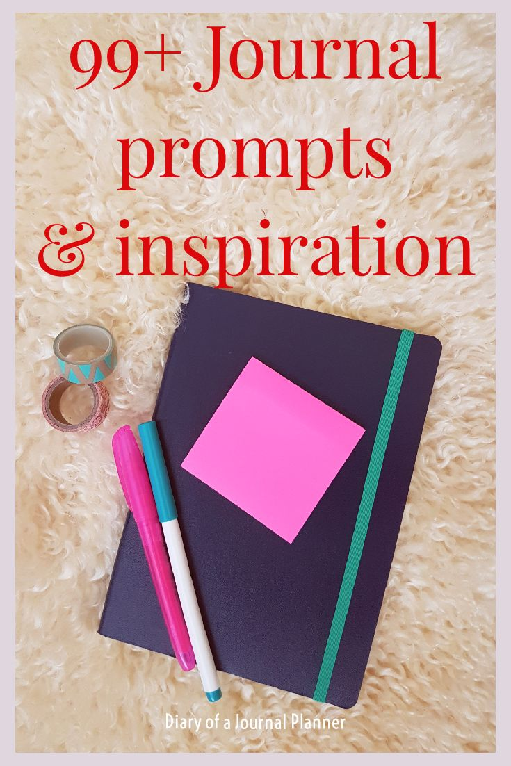 journal prompts and inspiration