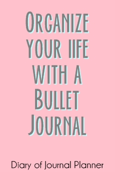 organize your life with bujo
