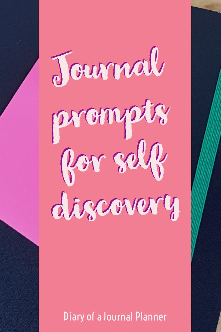 Bullet Journal prompts for self discovery