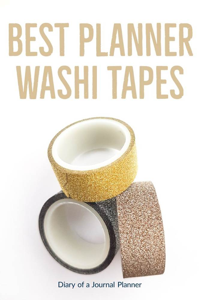 Best planner washi tapes #washi #washitape #washitapeprojects #dailyplanners #lifeplanners #bulletjournal #bujo