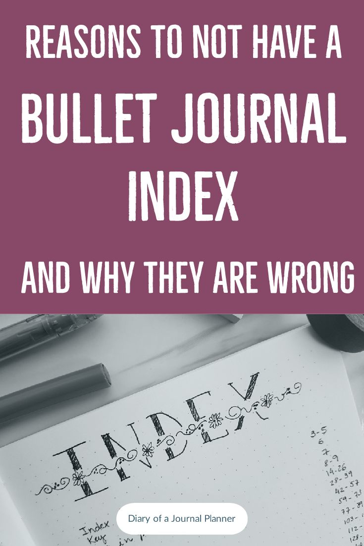 Learn how to set up a bullet journal index to find your collections pages and doodles spread, calendar and everything else in your bujo