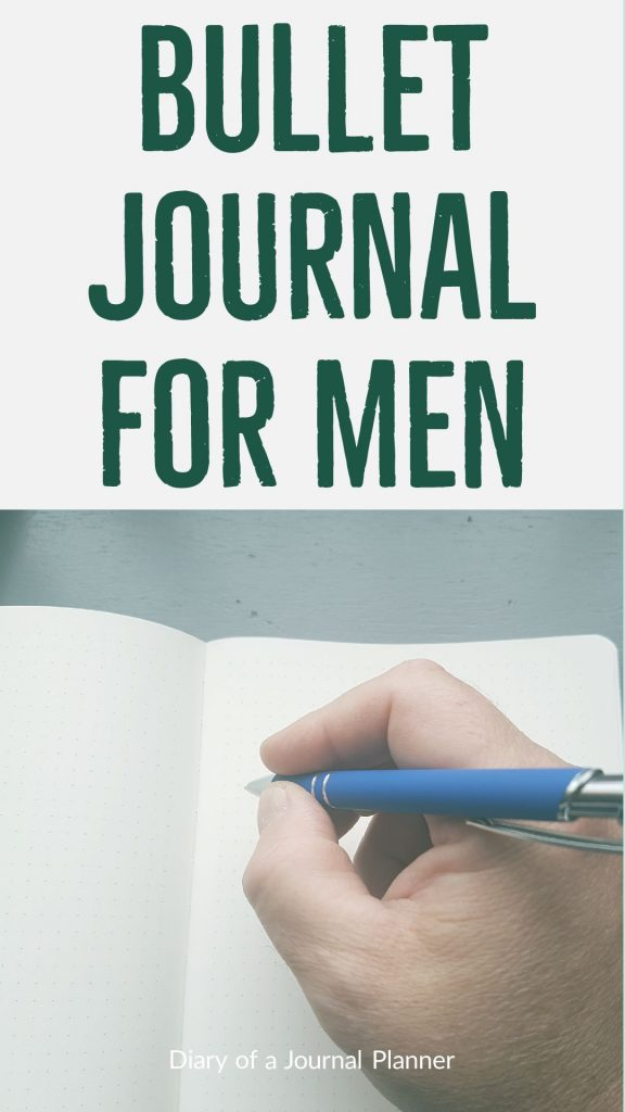 The simple dude's guide to bullet journal, with tips, ideas and inspiration for men who bullet journal.