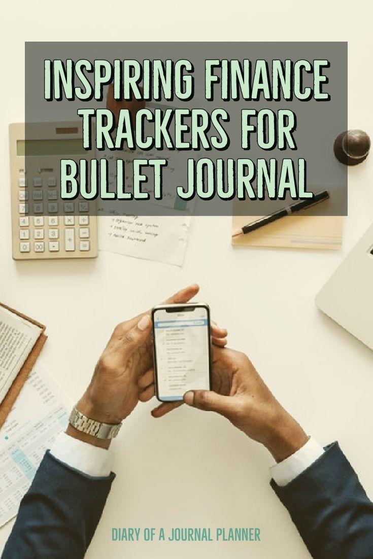 bullet journal budget spread