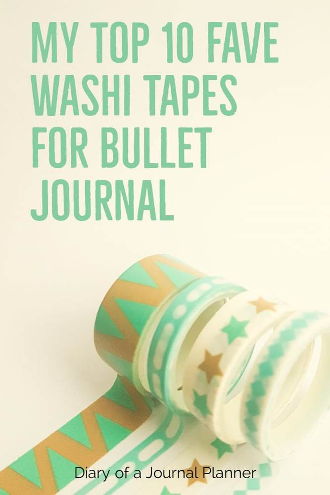 Washi tape for bullet journal #washi #washitape #washitapeprojects #dailyplanners #lifeplanners #bulletjournal #bujo