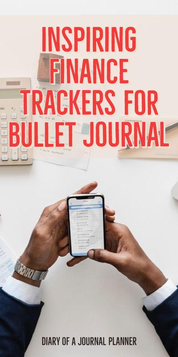 bullet journal fincance spread
