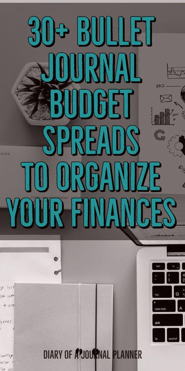 bullet journal finance