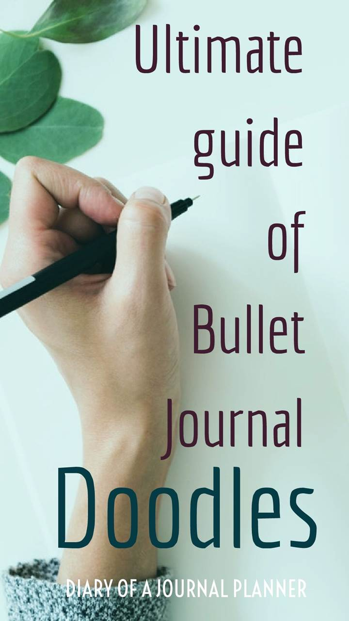 Guide of bullet journal doodles
