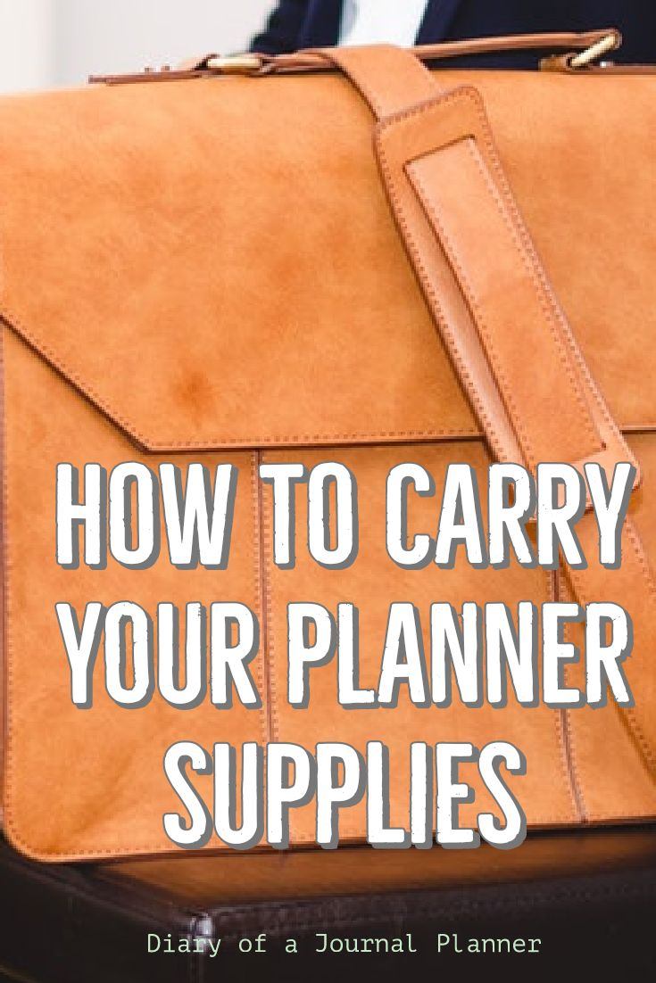 Learn how to protect and carry your supplies with you with tehse clever planner storage case ideas. Take your tools and supplies such as pens, stickers, washi tapes, markers, stamp sets and notebook with you to plan on the go.