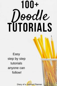 how to doodle for bullet journal