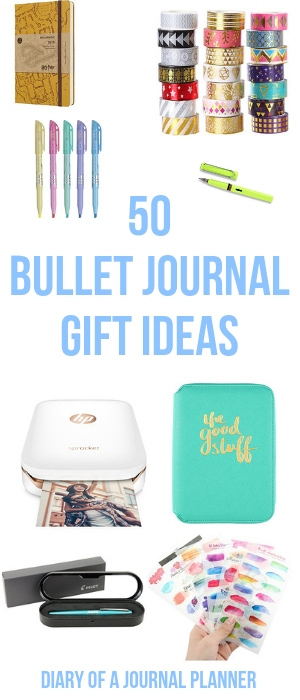 The perfect Gift Guide for bullet journal lovers