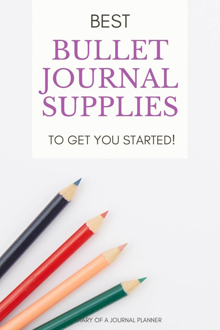 Best bullet journal supplies to get you started