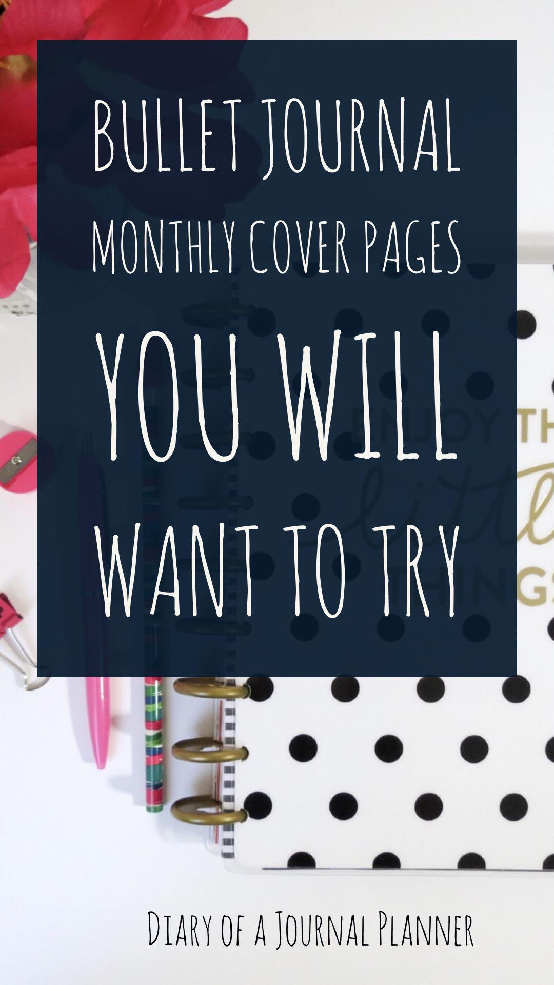 Cover Page Ideas for journals and panners