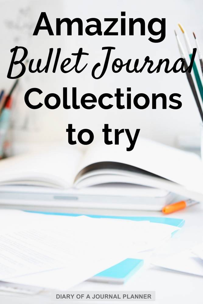 Amazing bullet journal collections to try