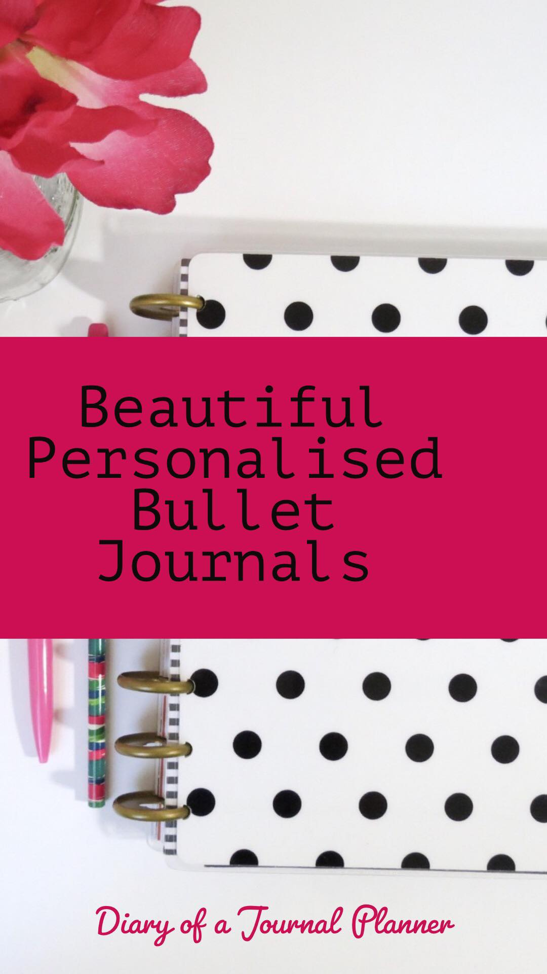 Amazing personalized bullet journals to gift to the journal lover