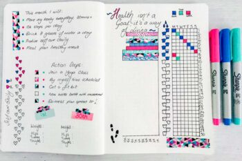 Health Tracker Buller Journal