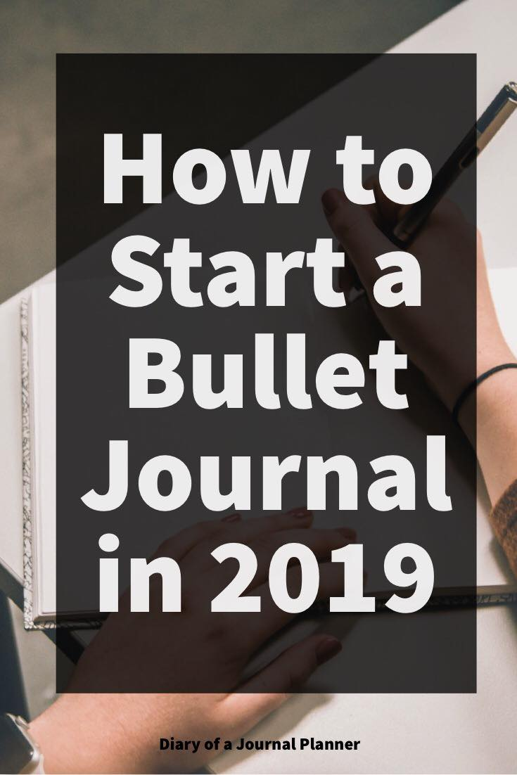 Ultimate guide to starting a Bullet Journal in 2019