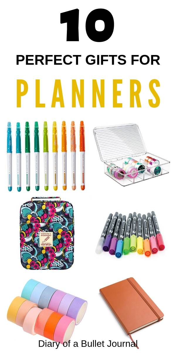 best planner gifts that any journal and planning lover will adore