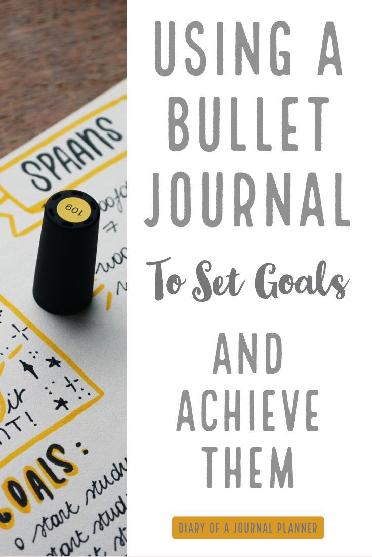 Set smart goals for Bullet Journal and achieve them.