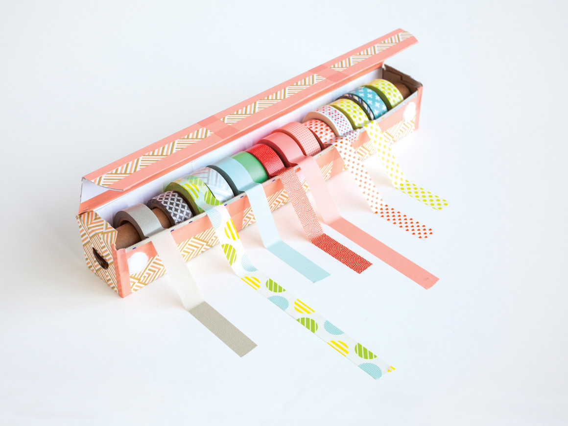 DIY washi Tape dispenser