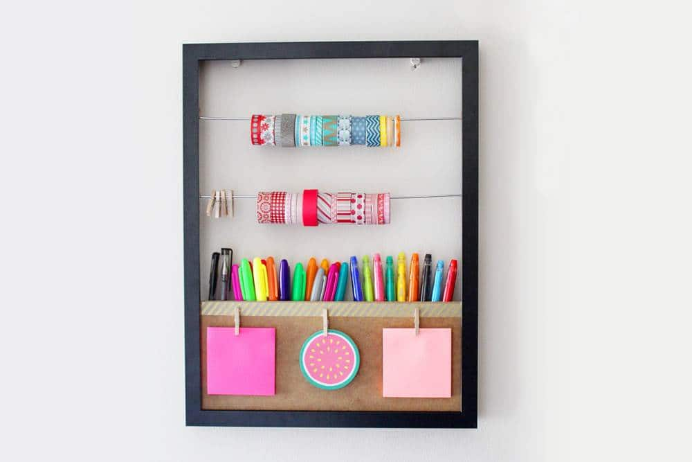DIY washi Tape storage