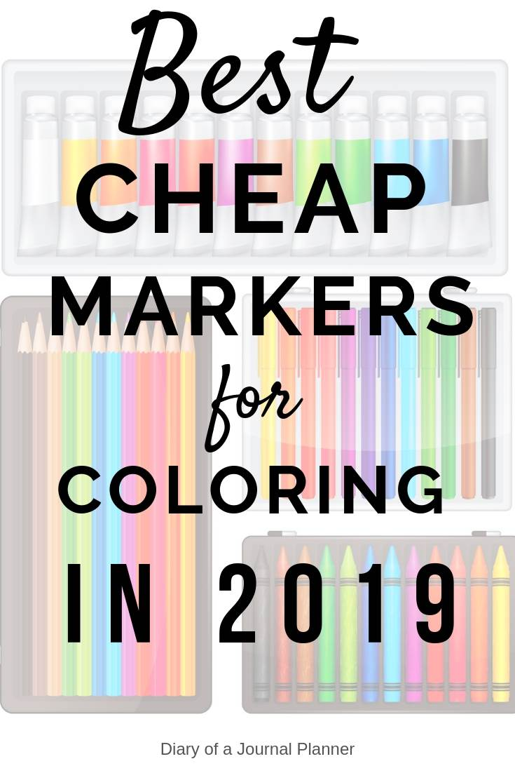 best cheap markers for coloring