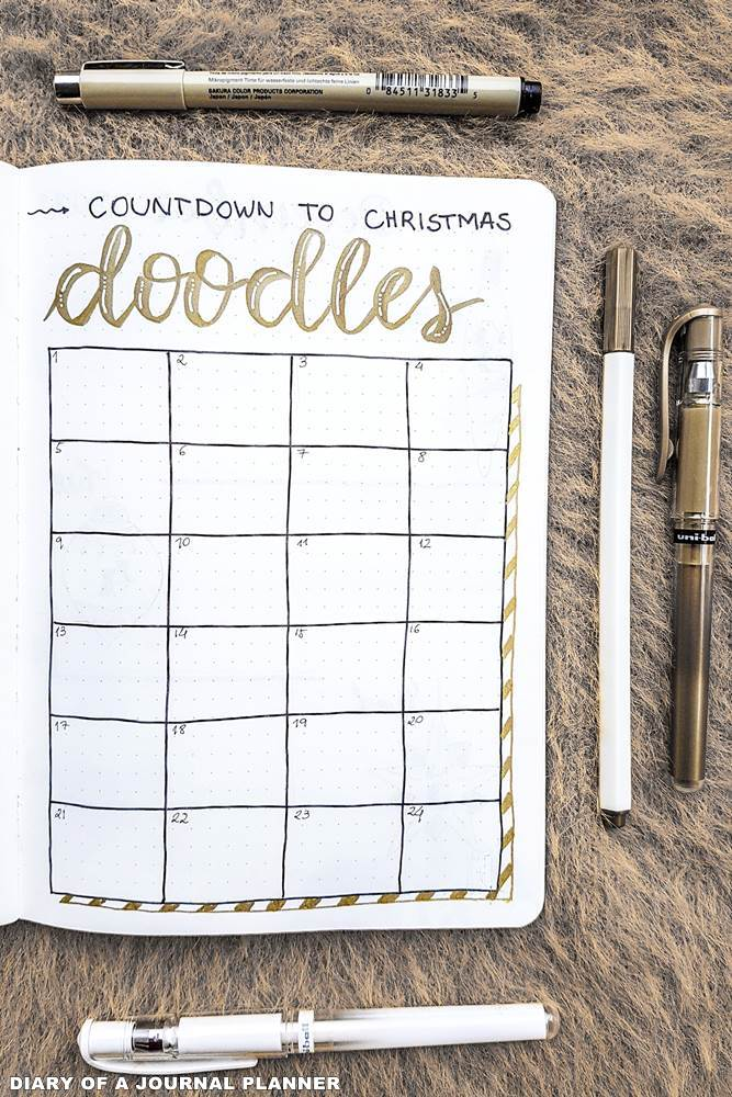 countdown to Christmas spreads