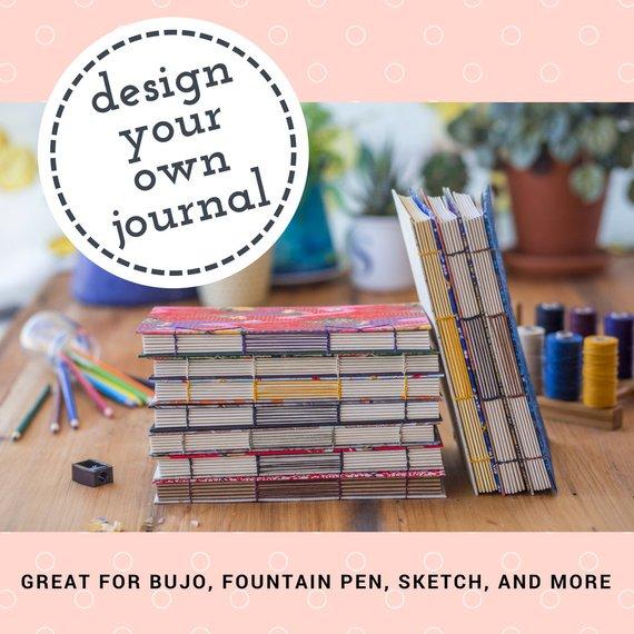 customized bullet journal