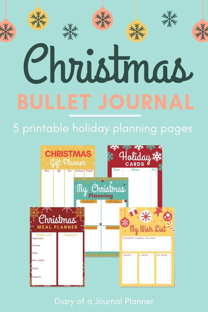 Free Christmas printables for your holiday planning. Get it all done this Xmas with our Christmas list printable that include gift list page, Christmas to do list, dinner planner printable sheet and much more.