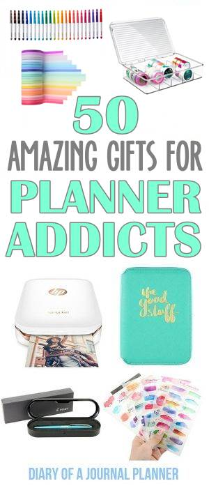 gift guide for planners and bullet journal addicts