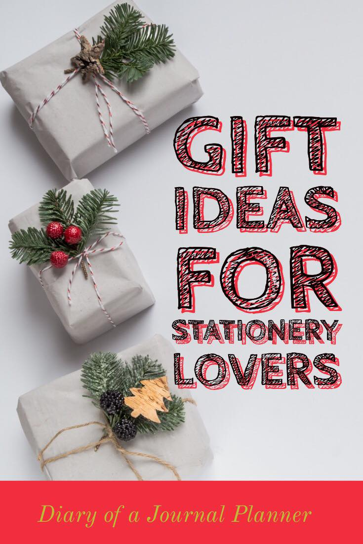 stationery gifts that bullet journalers will love