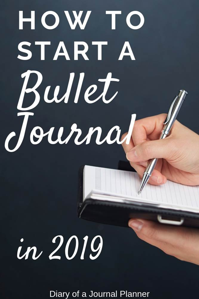 how to start a bullet journal this year