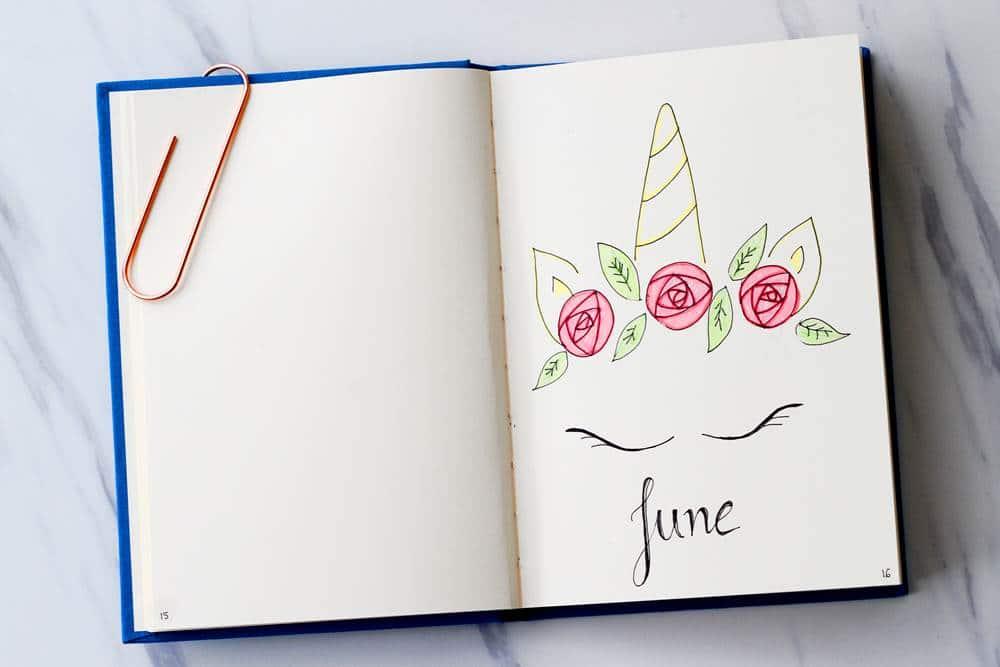 bullet journal doodle art