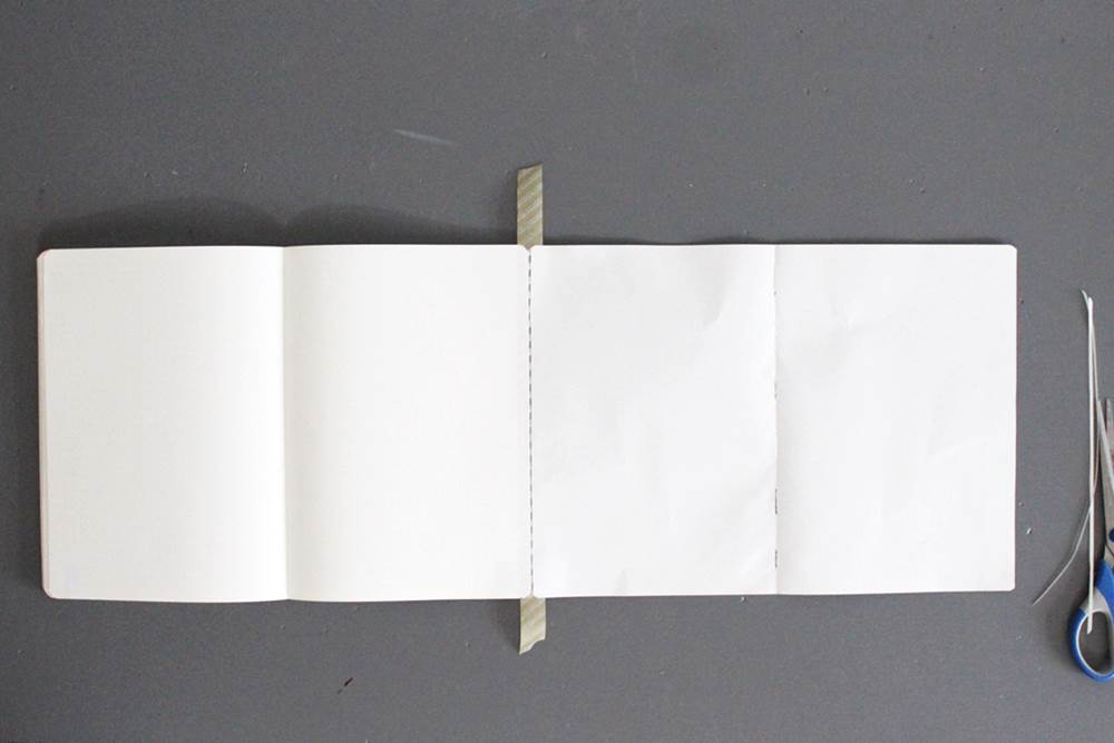 flip out page in a bullet journal