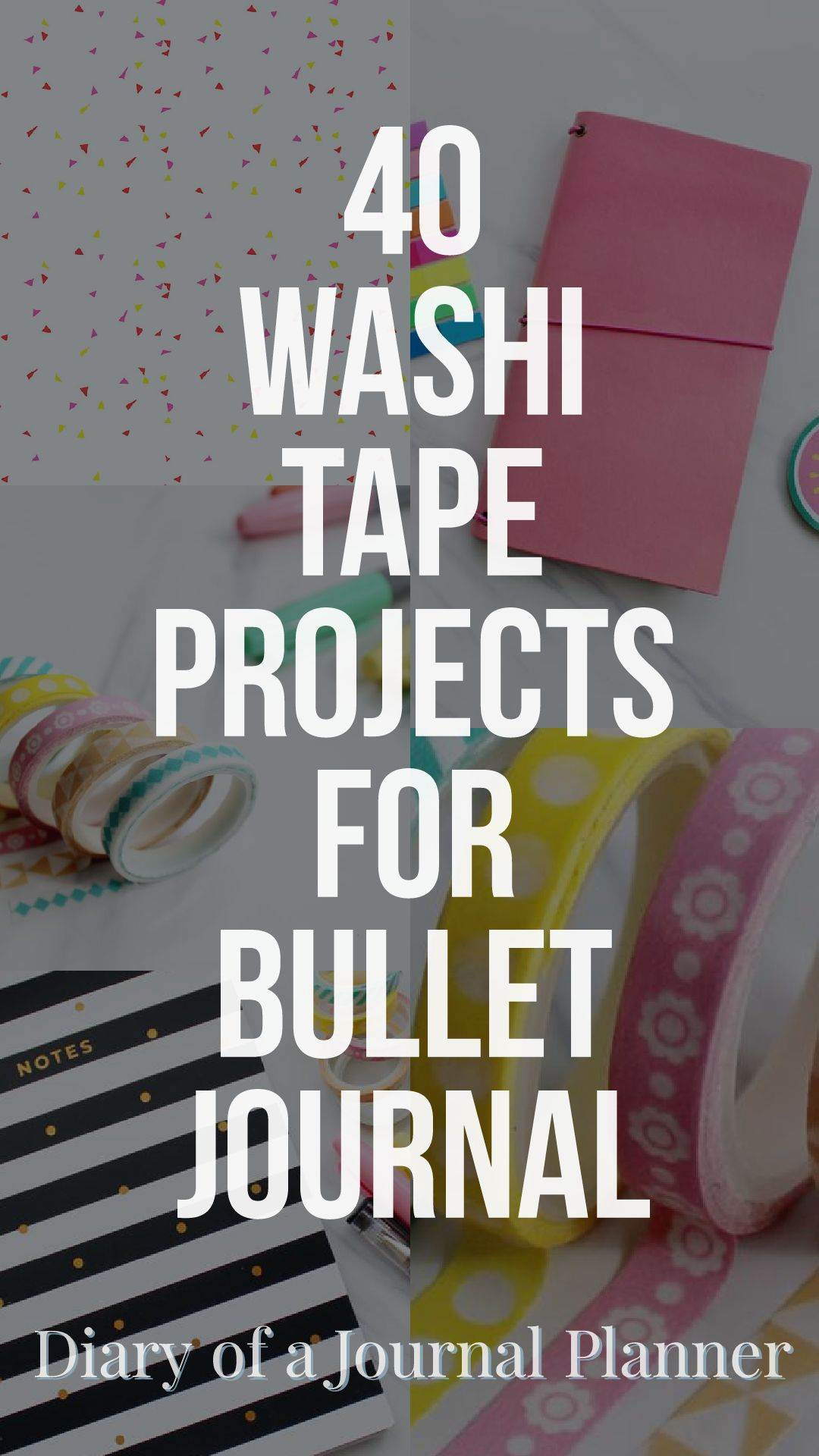 amazing washi tape projects to try on your bujo