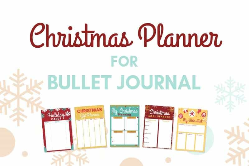 Christmas Planner Printables Free.Bullet Journal Christmas Planning 5 Free Bujo Christmas