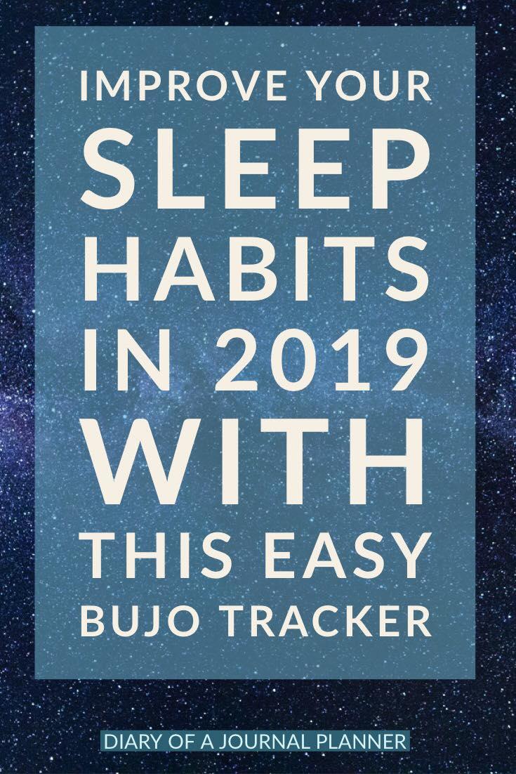 Sleep tracker for Bujo