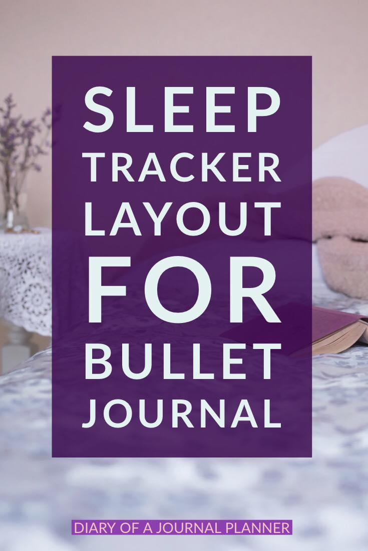 Sleep tracker layout ideas