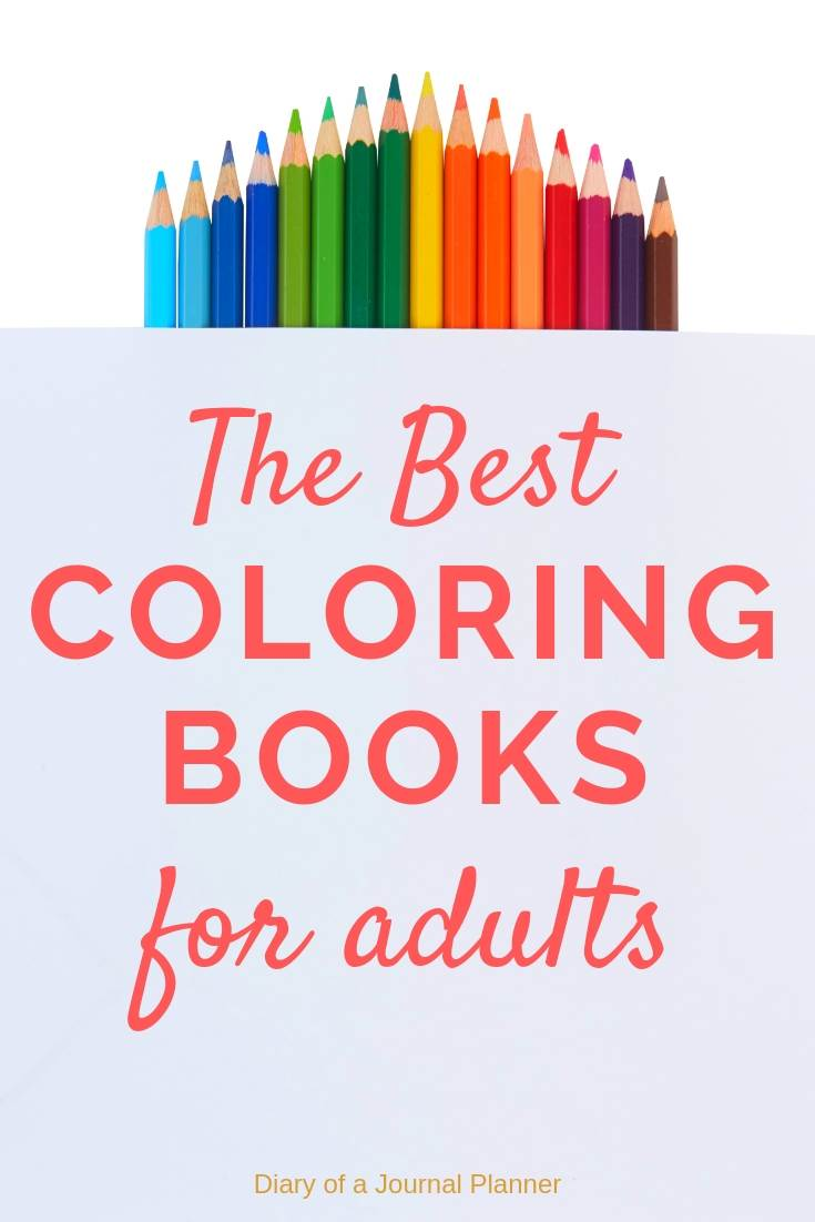 The best adult coloring books for adults on the market.